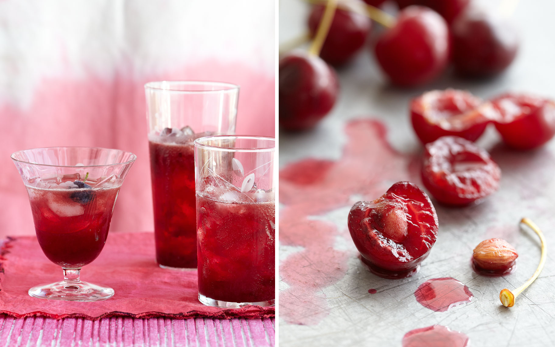PomegranateBlueberryJuice-Cherries